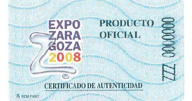 Etiqueta expo zaragoza