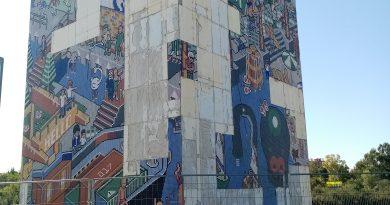 Mosaico ciudades de agua