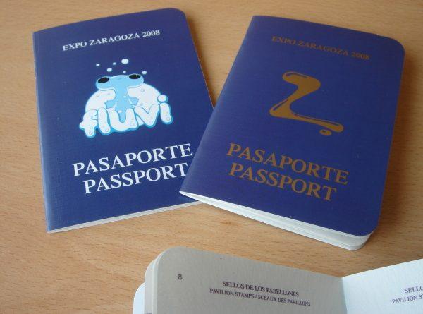 Pasaporte expo 2008