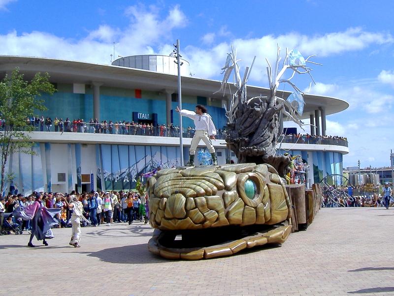 Cabalgata expo 2008