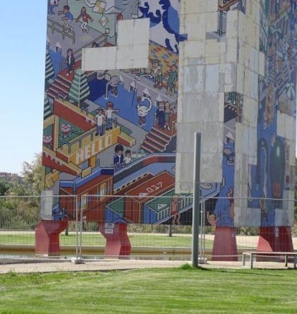 Mosaico plaza expo 2008