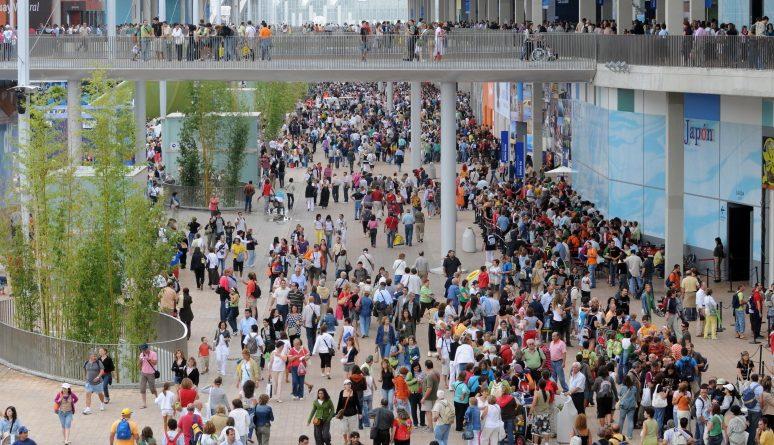 Visitas expo 2008